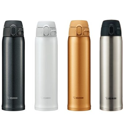 【ZOJIRUSHI 象印】超輕量OneTouch不鏽鋼真空 保溫杯/保溫瓶/保溫罐 600ml SM-TA60