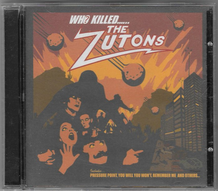 THE ZUTONS / WHO KILLED THE ZUTONS / 二手