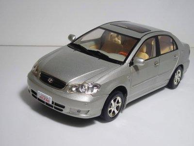 Toyota Altis 模型 1/18 銷售百萬台紀念 模型 完整盒裝 免運