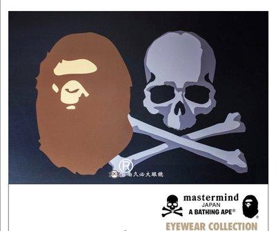 [進擊的海賊]Bape X mastermind japan MMJ A bathing ape墨鏡 太陽眼鏡 全新限量
