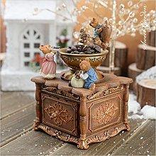 Sweet Garden, 餐廳 咖啡館擺飾 可愛鄉村風 抽屜可開 磨豆機 JARLL小熊咖啡機音樂盒 旋轉擺飾(免運)