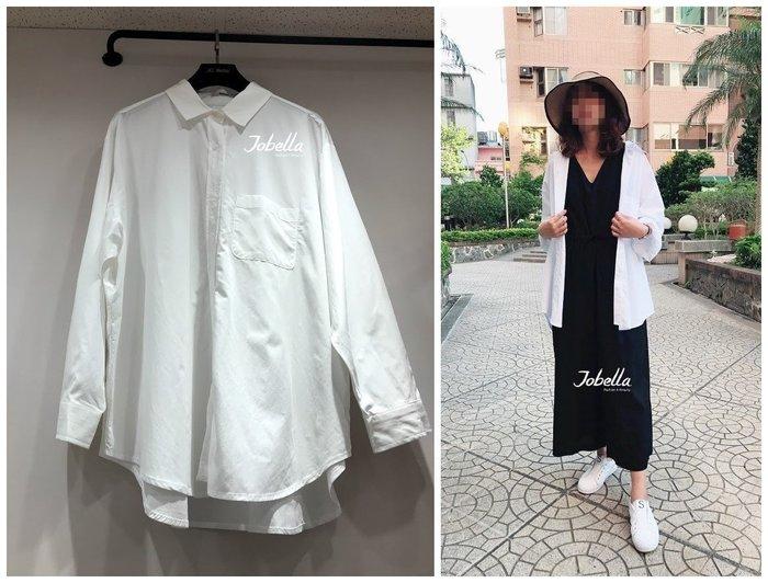 ✽JoBella 韓國空運 韓國代購 韓貨✽ 寬鬆白襯衫 現貨+預購