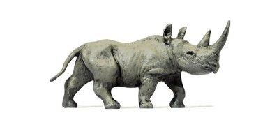 傑仲 (有發票) 博蘭 公司貨 Preiser 人物組 African rhinoceros 29521 HO