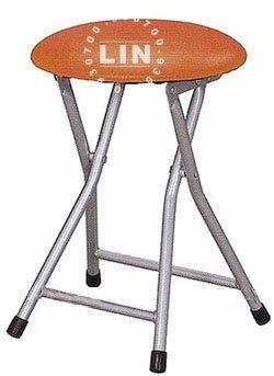【品特優家具倉儲】R968-01折合椅吧台椅折凳椅洽談椅優惠價烤銀腳