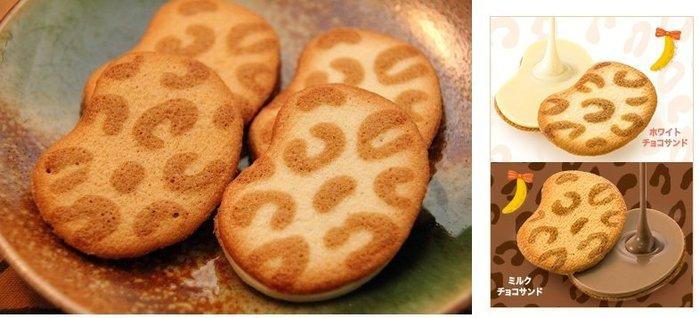 Ariel's Wish預購-日本東京必買TOKYO BANANA豹紋香蕉巧克力餅乾(白巧克力+牛奶巧克力)-8入賣場