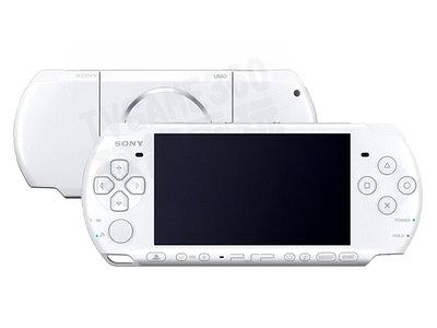 【二手主機】SONY PSP 3000型 主機 白色 珍珠白 附充電器 裸裝【台中恐龍電玩】