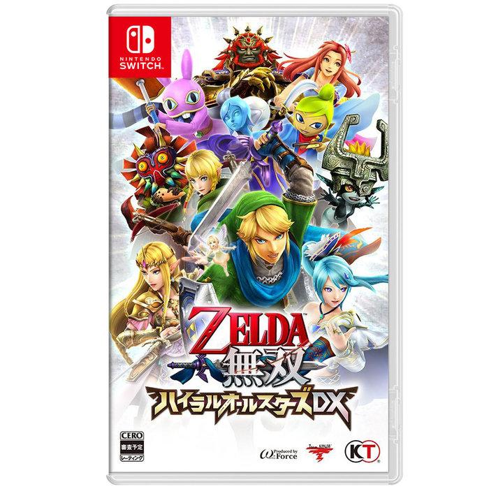 【墨坊資訊-台南市】任天堂 Nintendo Switch 【薩爾達無雙 海拉魯全明星豪華版 】