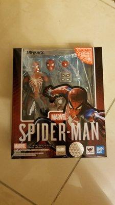 [全新] 行版 s.h.figuarts Avengers endgame Spider-man shf 蜘蛛俠 PS4 Marvel 初回特典 先進戰衣