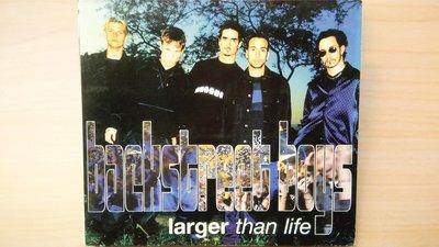 ## 馨香小屋--Backstreet Boys 新好男孩 單曲 / larger than life