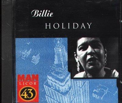 K - BILLIE HOLIDAY - MAN LICOR 43 - CD - NEW 1996