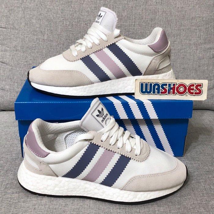 Washoes adidas I-5923 INIKI Runner 白灰 藍 粉 CG6040 楊穎 慢跑鞋 女鞋05