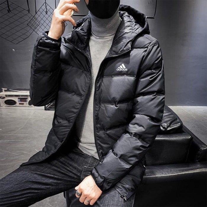 『Fashion❤House』新款男款羽絨服運動休閒保暖外套連帽外套百搭潮流外套羽絨衣登山戶外外套開衫外套