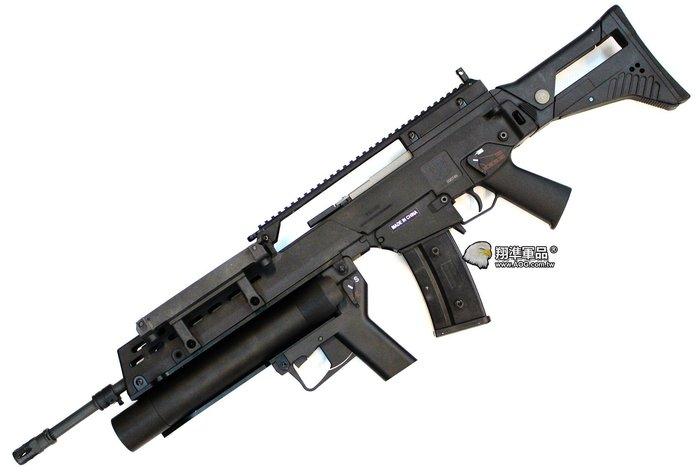 【翔準國際AOG】S&T C316V IDZ WITH EBB 黑色 電動槍 DA-ST-G316-019-BK