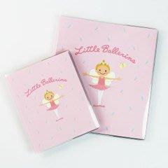 芭蕾小棧生日畢業表演禮物日本進口Little Ballerina可愛文具舞者相簿3x5 80張大  小天使
