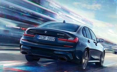 BMW 原廠 Individual 高亮黑 黑色 矩形 尾飾管 飾管 排氣管 For G20 320i 330i