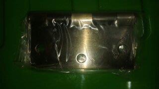 4英吋 2mm厚(單片30元)丁雙 鉸鍊 10公分後鈕 鋁門後鈕 插心後鈕 旗型鉸鏈 鋁門活頁 鉸鏈鋁 推拉門鉸鍊