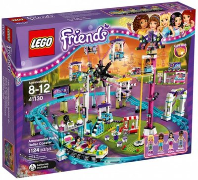 全新現貨 41130 LEGO Friends Amusement Park Roller Coaster