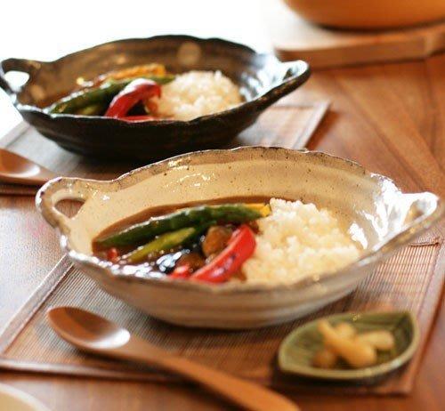 ღ小森 日本嚴選【FUSHU手作陶器湯碗 附湯匙+勺墊+餐墊 6件組】現貨【CP16120003】