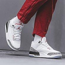 Jordan 3 Retro Free Throw Line White Cement 白色 爆裂文