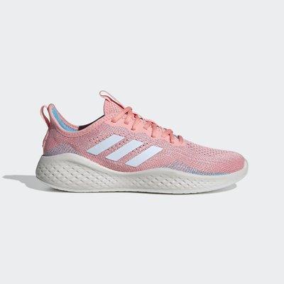 沃皮斯§Adidas FLUIDFLOW 粉紅 慢跑 女鞋 EG3670