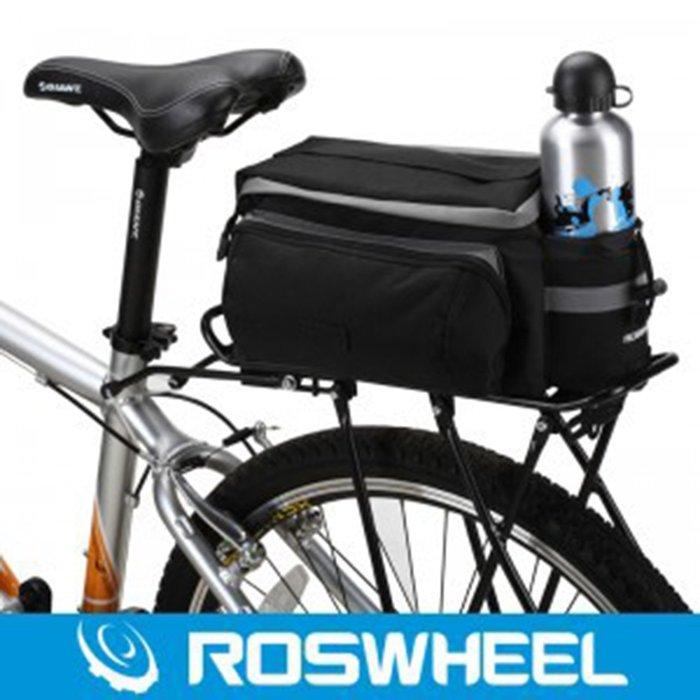 【綠色運動】2016新款 自行車中短途騎行馱包 後座貨架包 單車后座包 貨架尾包 工具包 雜物包 單車裝備 沃
