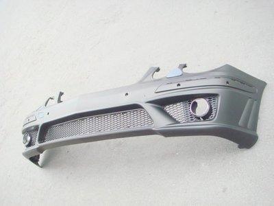 小亞車燈╠ 全新酷炫版BENZ W211 E200 E240 E280 E63 前保桿 含 霧燈 全配件