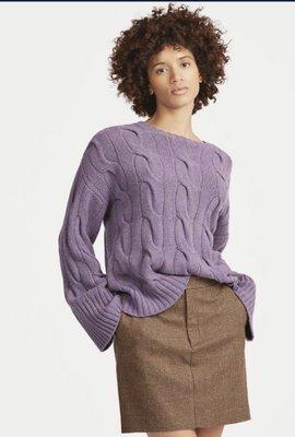 Ralph Lauren polo RL 羊毛加喀什米爾 wool + cashmere 羊毛衣