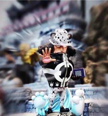 惠美玩品 海賊王 其它 公仔 2006 大熊 王下七武海 暴君 場景 雕像
