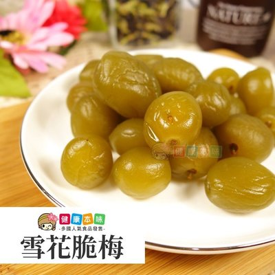 雪花脆梅250g 蜜餞 [TW00145]健康本味