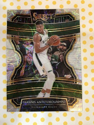 2019-20 NBA Panini Select Giannis Antetokounmpo 字母哥 占星圖亮卡