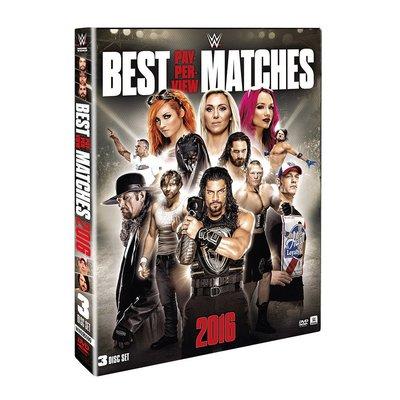 ☆阿Su倉庫☆WWE摔角 Best PPV Matches 2016 DVD 2016最佳賽事精選專輯 熱賣特價中
