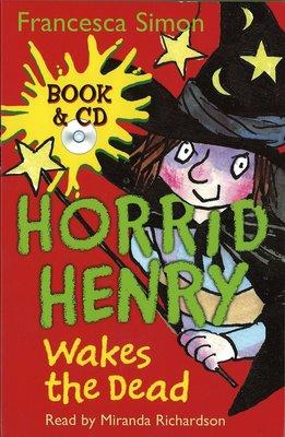 *小貝比的家*HORRID HENRY WAKES THE DEAD /書+CD/7~12歲