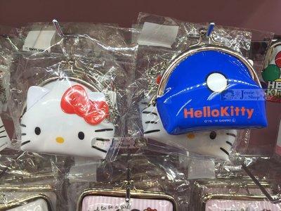『限時特價』日本限定 SANRIO三麗鷗 Hello Kitty 經典款 大臉 大頭 立體 珠扣式 吊飾 零錢包 附珠鍊