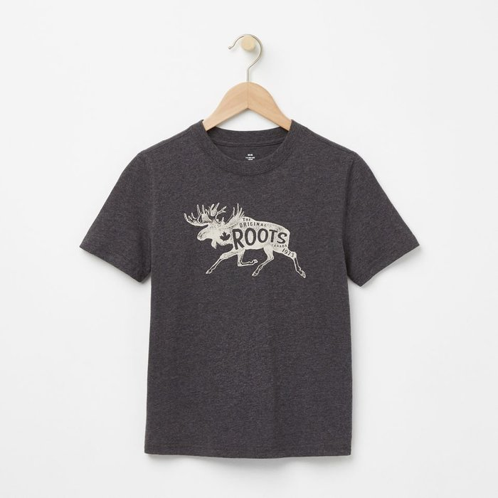 ~☆.•°莎莎~*~~☆~加拿大 ROOTS BOYS ROOTS ANIMAL T-SHIRT (童)