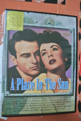 DVD ~ A PLACE IN THE SUN 郎心如鐵  ~ 1951 出品  SI0063