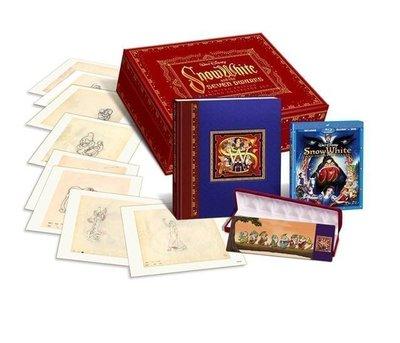 【BD藍光】白雪公主 三碟鑽石版:限量珍藏禮盒版(英文字幕)Snow White and the Seven Dwarf