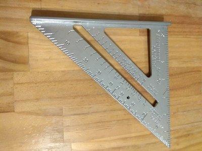 多用途 鋁合金 壓鑄 三角尺 角尺 直尺 量角器 木工尺
