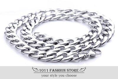 霸氣 男性 / 女性 西德鋼 / 鈦鋼 不鏽鋼 扁形 個性項鍊 不鏽鋼項鍊 BH110304 周杰倫 JAY 同款