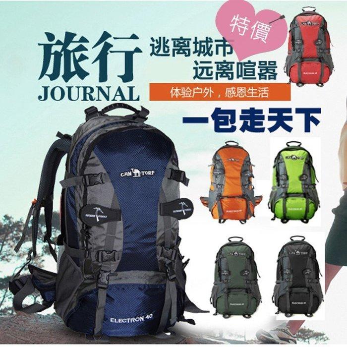東大門平價鋪   正品駱駝專業戶外登山包男女雙肩背包 防水耐磨徒步旅行包
