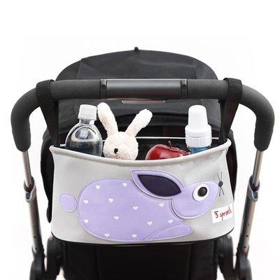 辰果購物 加拿大 3 Sprouts推車置物袋-小兔子 台灣授權代理商