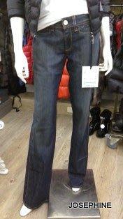 喬瑟芬【NOTIFY JEANS】7折特價$8260~藍色復古單寧寬版牛仔褲NFY/50~