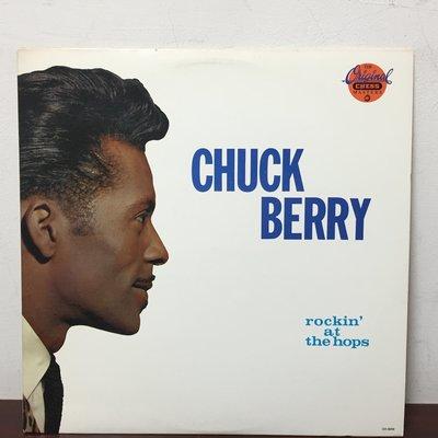 晨雨黑膠【西洋】美版/Chuck Berry – Rockin' At The Hops