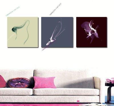 【40*40cm】【厚1.2cm】抽象-無框畫裝飾畫版畫客廳簡約家居餐廳臥室牆壁【280101_141】(1套價格)