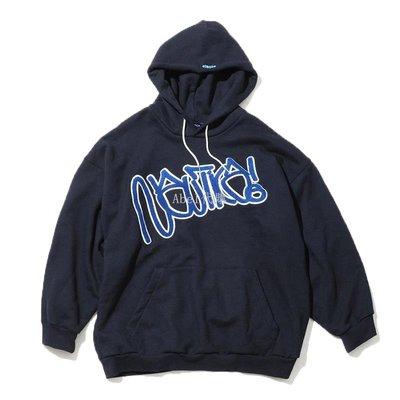 Abel代購 潮牌WCIB現貨Nautica Japan Stacks Jota藝術家聯名植絨重磅衛衣帽衫