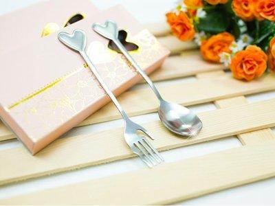 樂芙 心手餐具禮盒 * 不鏽鋼 餐具禮盒 婚禮小物 競選贈品 開店禮品 社團贈品 環保餐具 筷套