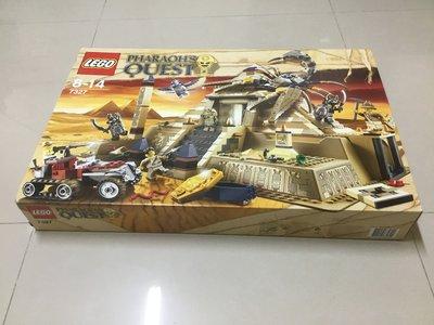 [二手] 樂高,LEGO 7327 埃及 金字塔 法老王