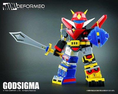 金錢貓雜貨 全新 Action Toys Mini Deformed 05 God Sigma 宇宙大帝
