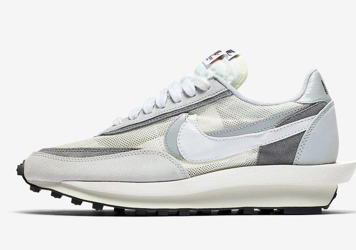 沃皮斯§sacai x Nike LDWaffle 灰 BV0073-100