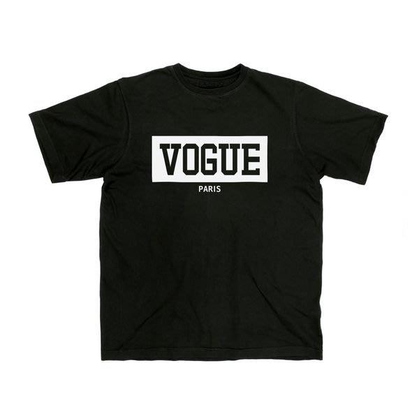 【HYDRA】THATSHITCRAY 翻玩 vogue paris box logo tee 黑白 S / M / L