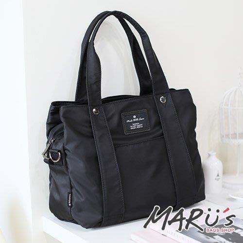 MARU S BAGS SHOP 多夾層設計手提側背包媽媽包超好用正品[LG-798-SI-W]